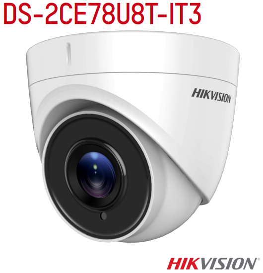 DS-2CE78U8T-IT3  (HK300610726) - telecmera dome 4k hikvision